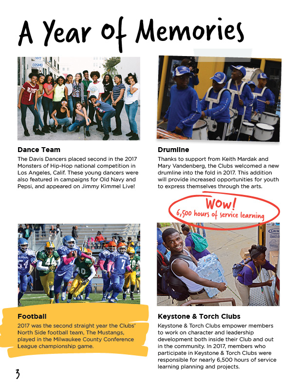 2017 Annual Report | Boys & Girls Clubs of Greater Milwaukee