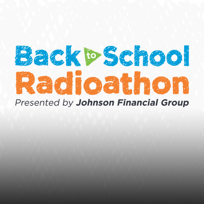 Thank you for supporting our Back to School Radioathon
